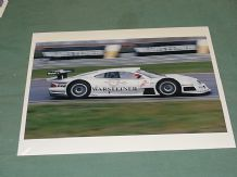 "MERCEDES-BENZ CLK-GTR Zonta/Ludwig 10x8"" photo Oschersleben FIA GT 1998"